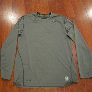 Fitted Nike Pro Combat Long Sleeve Shirt